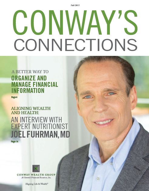 Conway's Connections with Dr. Joel Fuhrman